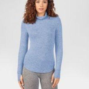Warm Essentials Cozy Knit Long Sleeve Mock Neck